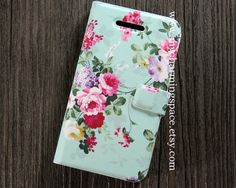 Mint Floral case for iphone 4 case,iphone 4s case, bow case,mint green floral iphone 5 case,flower Samsung Galaxy S4 case