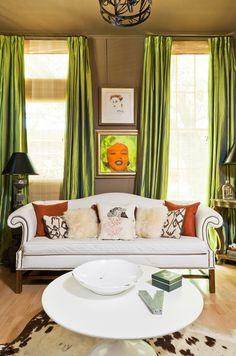 Green Living Room Site Housebeautiful Com