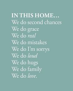 Home Decor Print Family Motto or Manifesto In This by cjprints Great Quotes, Quotes To Live By, Me Quotes, Inspirational Quotes, Family Motto, Family Rules, Foster Parenting, Foster Parent Quotes, Cool Words