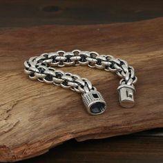 Men's Sterling Silver Bold Link Chain Bracelet