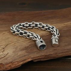 Men's Sterling Silver Bold Link Chain Bracelet