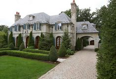 French inspired manse