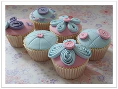 Holiday Cupcakes, Mothers' Day Cupcake Ideas
