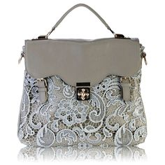 New - European and American vintage plum buckle handbag - lace bag Mobile Messenger