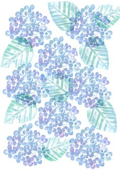 Pastel Drawing, Pastel Art, Hydrangea Wallpaper, Postcard Wall, Different Kinds Of Art, Ecole Art, Japan Art, Pattern Illustration, Artwork Prints