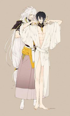 Kogitsune, please help me wear my clothes.