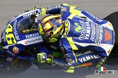 Good 2nd place for Rossi in the 1st day of free practice for the upcoming MotoGP