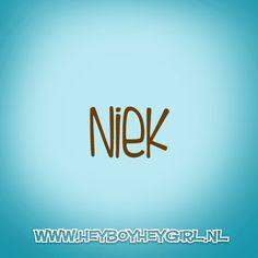 Niek (Voor meer inspiratie, en unieke geboortekaartjes kijk op www.heyboyheygirl.nl)