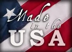 Made in the USA and providing jobs for our families.  keeping money in the USA that benefits JOB OPPORTUNITIES for many...