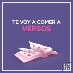 Si sigues mirándome así ya sabes que.... 😘  #diadelapoesia #DiaMundialDeLaPoesia  #confortex #confortexcondom #condom #condones #preservativos #safesex #sexoseguro #poesia #versos #poeta #escritor #happy #feliz #love #lovers #instagood #instalove #hot #cold #cool #kiss #divertido #enjoy #art #intimacy #frases #color #funny