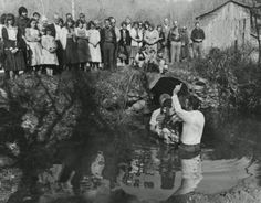 Appalachian River Baptizing