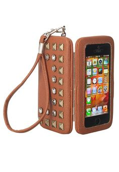 Studded Phone Case Wristlet (original price, $10) available at #Maurices