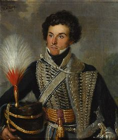 An Officer of the 18th Regiment of (Light) Dragoons (Hussars), c.1815