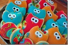 Owl Cookies by asel