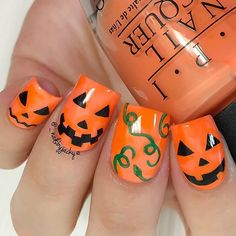 Trendy Creepy Nail Art Ideas For Halloween                                                                                                                                                                                 More