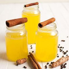 Turmeric ginger tea with lemon helps you to fight cold, cough and sore throat. This simple drink can tremendously improve your immune system. Fodmap Recipes, Lemon Recipes, Raw Food Recipes, Wine Recipes, Smoothie Drinks, Smoothies, Food N, Food And Drink, Turmeric Health Benefits