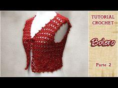DIY Como tejer un Bolero a CROCHET, PASO A PASO (2 de 3)