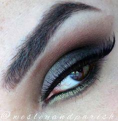 Wesley Hilton Makeup: Makeup: Black Silver