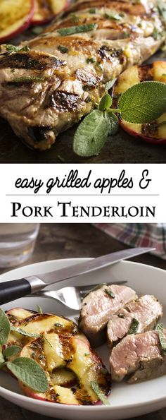 Fall grilling is at its best with this easy grilled pork tenderloin which is…
