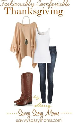 """Fashionably Comfortable Thanksgiving"" by thelifeoftheparty on Polyvore"
