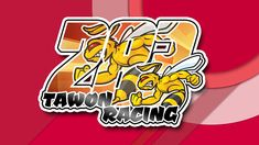 Stiker Tawon Racing