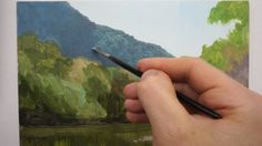 Techniques for Landscape Oil painting on Panel