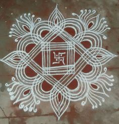 Simple machine quilting beautiful 35 Ideas for 2020 Simple Rangoli Designs Images, Rangoli Designs Flower, Rangoli Border Designs, Small Rangoli Design, Rangoli Designs With Dots, Flower Rangoli, Beautiful Rangoli Designs, Mehndi Designs, Rangoli Borders