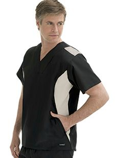 Uniforms 7485 Men's Zip Pocket Scrub Top