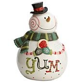 Oneida Holiday Serveware, Sweet Twist Cookie Jar