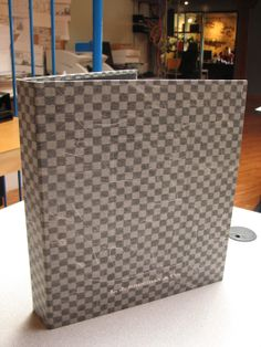 Custom ring binder paper covers