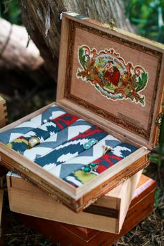 FOR SALE NOW - Cigar Box Jewelry Box by CraftsOfKayleigh on Etsy, $40.00