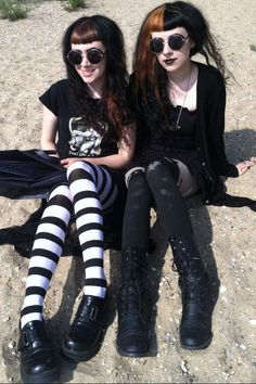 Smiling Beach Goths