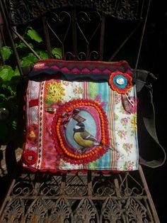 Handtasche vogel lilli-pomerin