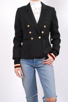 Smythe College Blazer Tailored Jacket, Suit Jacket, Essential Wardrobe Pieces, Product Launch, Menswear, College, Blazer, Coat, Model