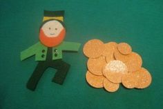 For a St. Patrick's Day flannelboard, I took inspiration from leprechaun tales and Rainbow Stew. When the Vikings raids were upon Ireland, the leprechauns hid the fairy gold and even today, guard it jealously. Supposedly it can be found in a pot of gold at the end of a rainbow. In an add-on to Rainbow Stew, …