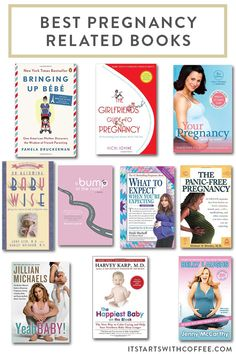 the best pregnancy and baby related books I read and why I feel each of them is worth the price and why you should read them Good Parenting, Parenting Hacks, Bringing Up Bebe, Coffee Blog, Belly Laughs, New Books, Pregnancy, Baby Books, Activities