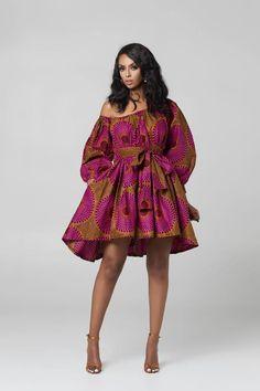 20 jolies robes en pagne de chez Grass-fields Source by benjaminejasmine dresses African Print Clothing, African Print Dresses, African Print Fashion, Africa Fashion, African Dress, African Attire, African Wear, African Women, Short Ankara Dresses