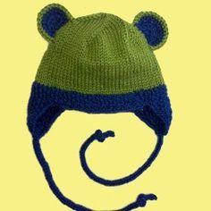 Cuddly Critter Earflap Hat- free pattern