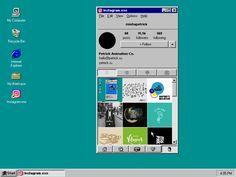 windows 1995 instagram - Gifporn