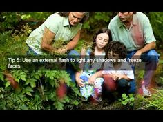 Digital Photography Tips For Taking Outdoor Family Portrait Pics