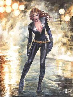 Black Widow by Milo Manara