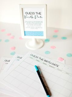 Baby Shower Games and Printable Game Cards | Entertaining - DIY Party Ideas, Recipes, Wedding & Baby Showers | DIY