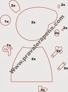 peppa pig Peppa als Handpuppe, fr Schorsch abgerundeter Krper Molde Peppa Pig, Bolo Da Peppa Pig, Peppa Pig Birthday Cake, Pig Crafts, Felt Crafts, Sewing Crafts, Cake Templates, George Pig, Felt Finger Puppets