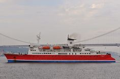 SHIPS & THE SEA - BLOGUE dos NAVIOS e do MAR: Navio de cruzeiros EXPEDITION em Lisboa