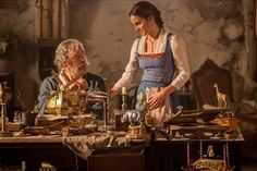 BEAUTY AND THE BEAST   Brand New Images From the Live Action Film Now Available!!!
