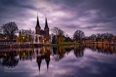 Eastern Gate Delft by MichaelvanderBurg. @go4fotos