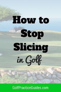 Slicing is one of the worst parts of golf and can make the game no fun to play. Check out this article sharing helpful tips to improve your golf swing and help you stop slicing the golf ball.