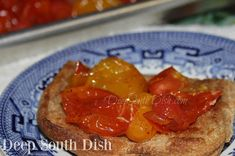 Melted Tiny Tomatoes - cherry and grape tomatoes, roasted with olive oil and a…