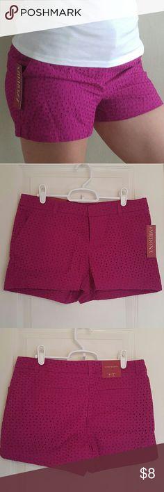 "Springtime Pink Merona 3"" Chino Shorts Merona 3"" Chino Shorts in Springtime Pink. New with tags! Size 4. Such a pretty color and very comfortable! Merona Shorts"