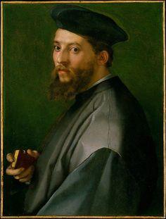 The Metropolitan Museum of Art, New York - Andrea del Sarto (Andrea d'Agnolo) (Italian, 1486–1530) | Portrait of a Man